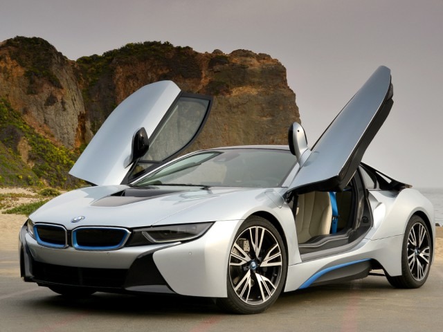 bmw i8 open doors
